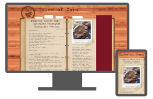 Responsive layouts for Three of Cups